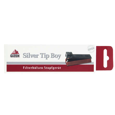 Машинка для набивки сигарет Gizeh Silver Tip Boy Plus