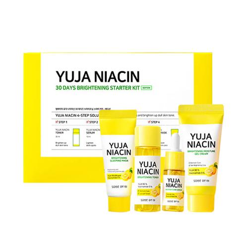 Some by mi Yuja Niacin 30 Days Brightening Starter kit [Miniature] Набор средств для яркости тона с экстрактом юдзу