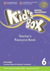 Kid's Box UPDATED Second Edition 6 Teacher's Resource Book with Online Audio