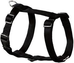 Шлейка для собак, Hunter Smart Ecco Sport L (54-87/59-100 см), нейлон черная