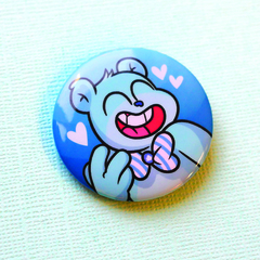 Значок Тэдди (голубой)