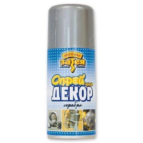 Спрей Декор серебр 150мл/V