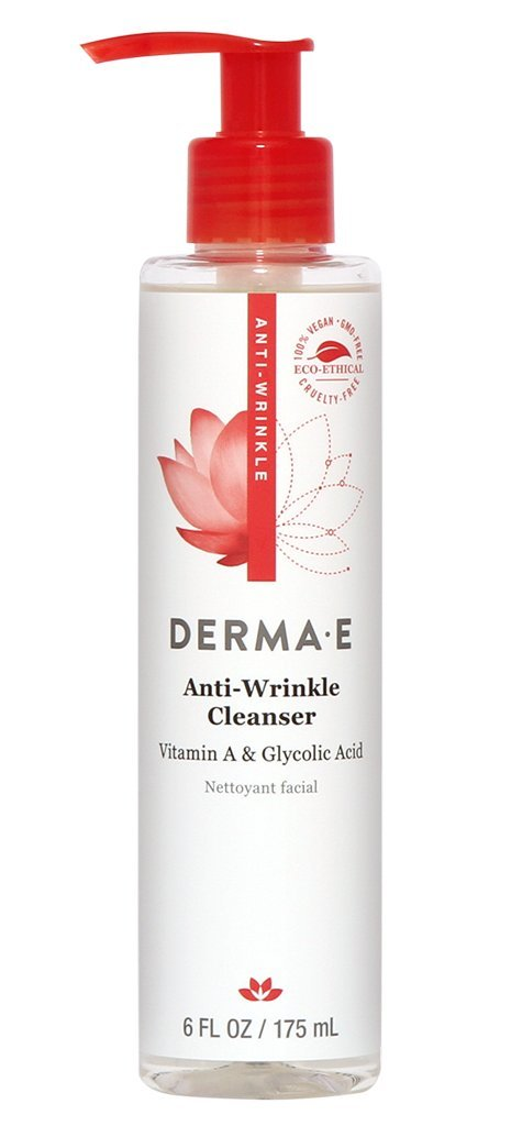 Гель для умывания Derma E  Anti-Wrinkle Cleanser 175 мл