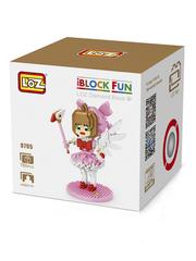 Конструктор LOZ Сакура Ловец карт 760 деталей NO. 9795 Cardcaptor Sakura iBlockFun Series