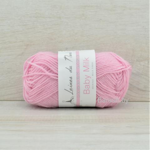 Пряжа Baby Milk (Бэби милк) Розовый. Артикул: 90