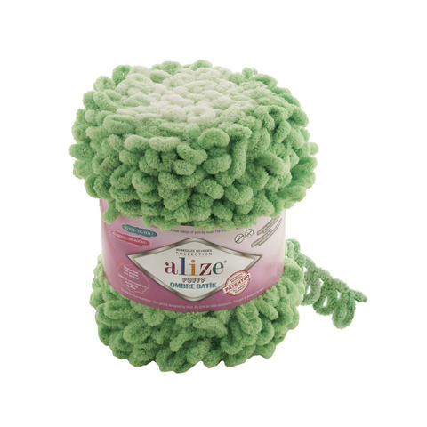 Купить Пряжа Alize Puffy Ombre Batik | Интернет-магазин пряжи «Пряха»