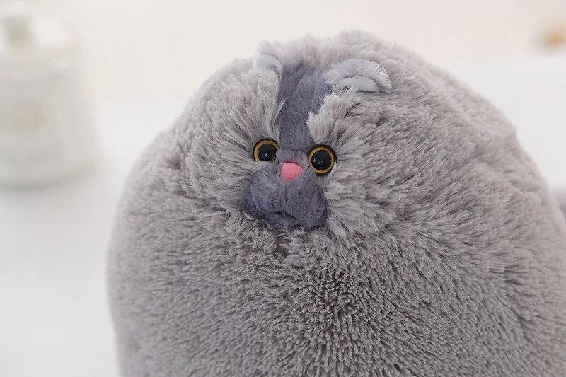 Мягкая игрушка Персидский кот 50 см, серый