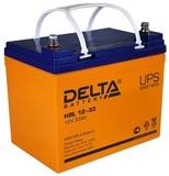 Аккумулятор DELTA HRL 12-33 ( 12V 33Ah / 12В 33Ач ) - фотография