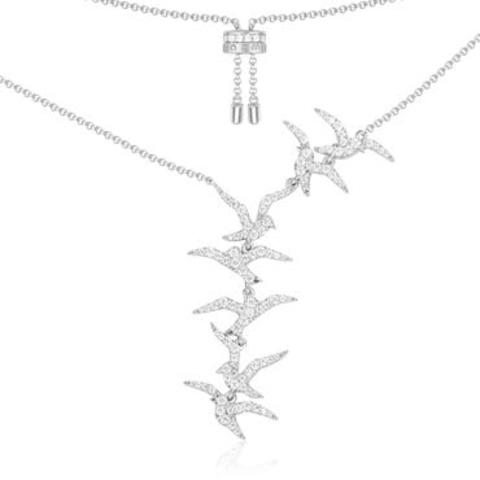 91956- Колье из серебра