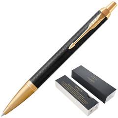 Ручка шариковая Parker IM цвет чернил синий цвет корпуса черный (артикул производителя 1931667)