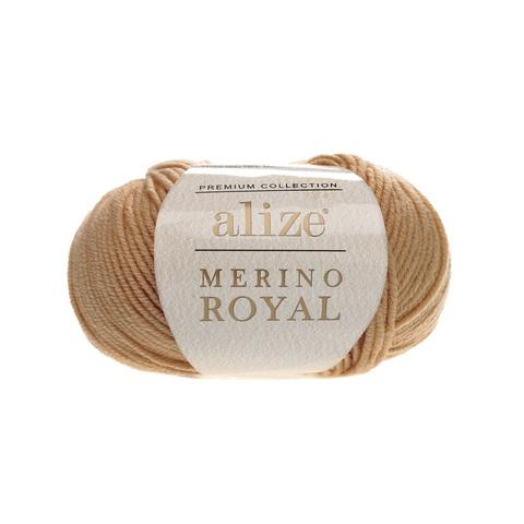 Alize Merino Royal каштановый 97