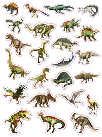 ИГРЫ НА МАГНИТАХ. Весёлое обучение. Динозавры