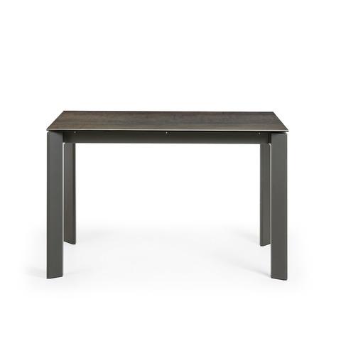 Обеденный стол Atta керамика, коричневый