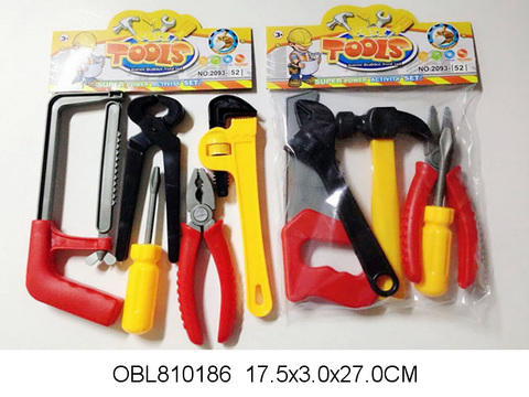 Набор инструментов, 5 пр (в пакете), 2093-52