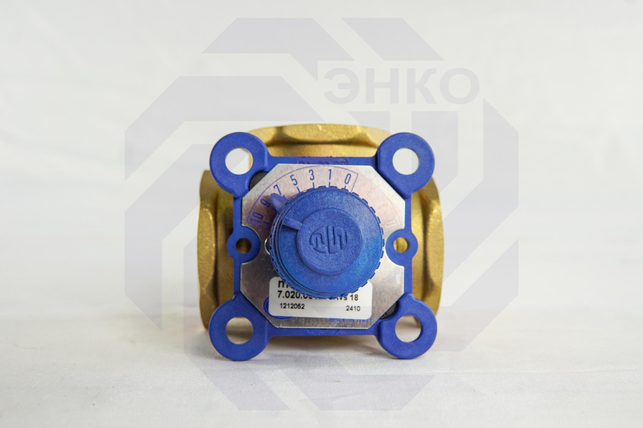 Клапан поворотный трехходовой MUT VDM3 3000M 1¼