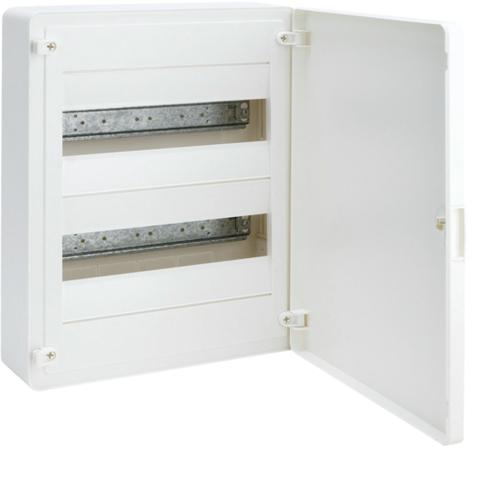 Щит открытой установки, 24М, с непрозрачной дверцей