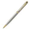 Parker Sonnet - Essential Stainless Steel GT Slim, шариковая ручка, M, BL