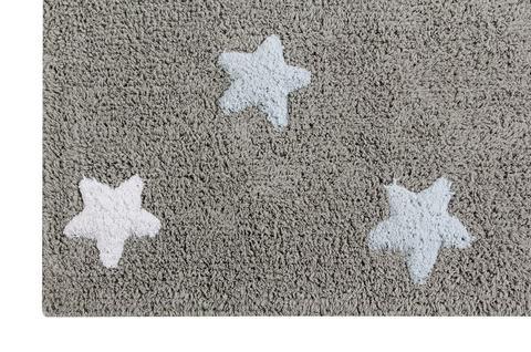 Ковер Lorena Canals Tricolor Stars Grey-Blue (120 х 160)