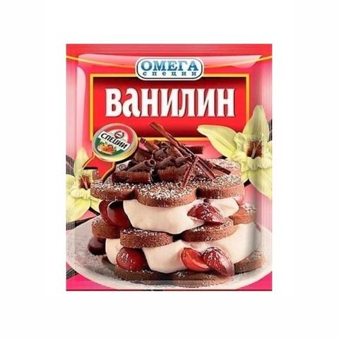 Ванилин ОМЕГА специи 3 гр м/у КАЗАХСТАН