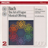 Neville Marriner, The Academy Of St. Martin-In-The-Fields / Johann Sebastian Bach: The Art Of Fugue - Musical Offering (2CD)