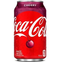 Coca-Cola Cherry Кока-Кола вишня 0,355 л