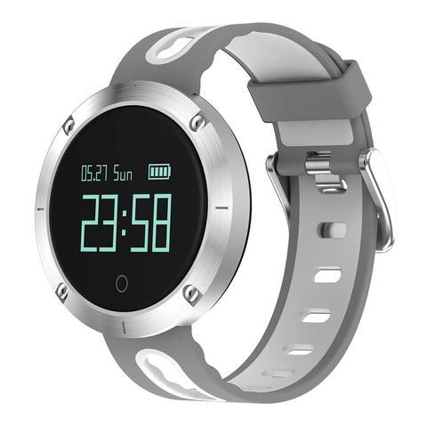 Смарт часы Makibes DM58 с Bluetooth пульсометром для iOS и Android цвета на выбор