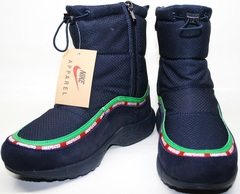 Кроссовки дутики snow boot nike undefeated B8923-3
