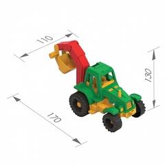 Трактор «Ижора» с ковшом