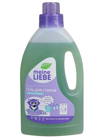 Гель для стирки цветных тканей концентрат  Meine Liebe 800 мл
