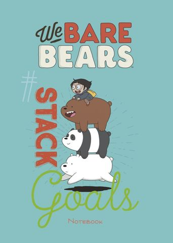 Блокнот We bare bears