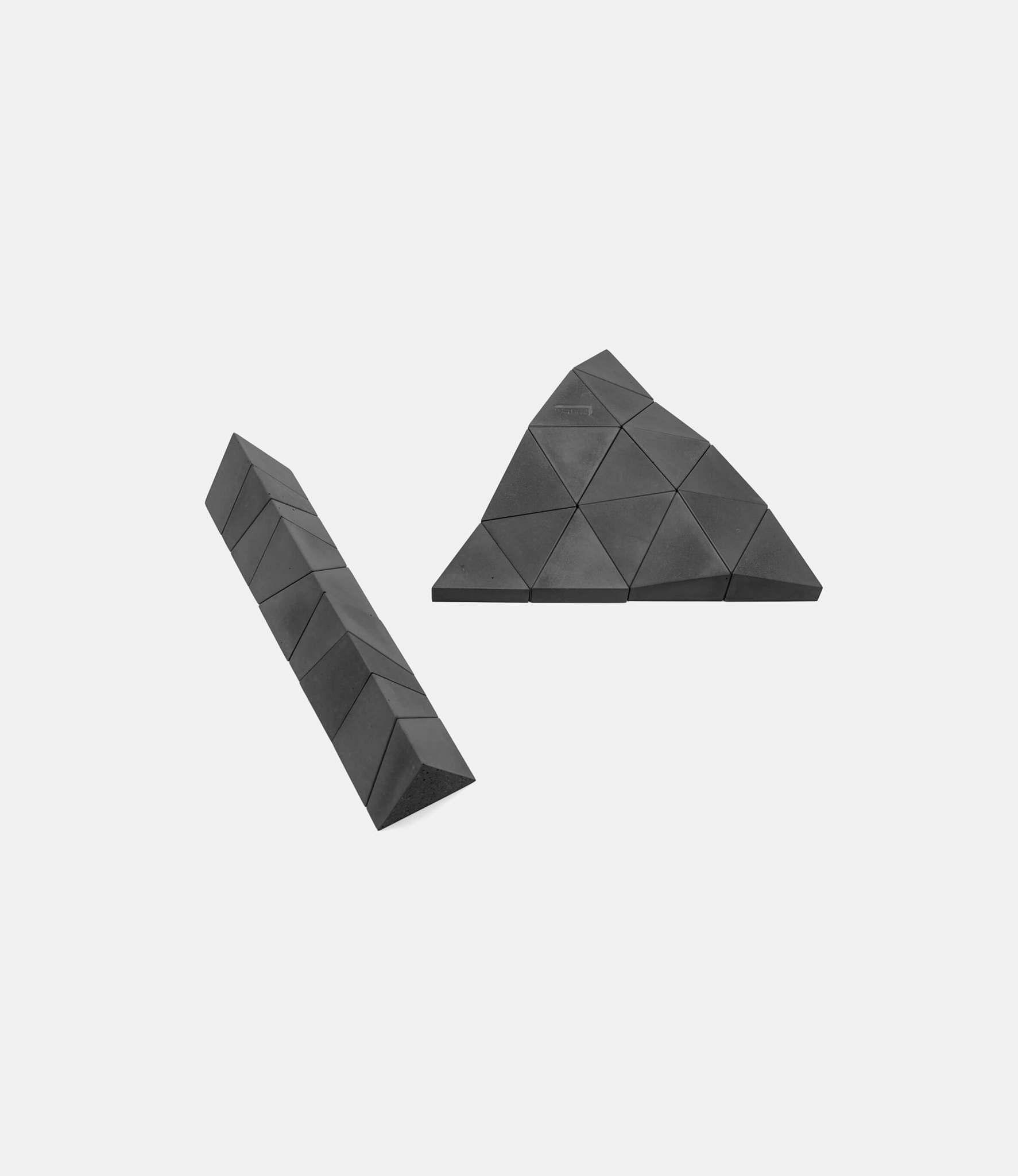 Logideez Logifaces Original Set Basalt — пазл из бетона: серый базальт