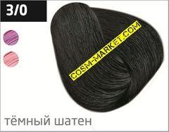 OLLIN SILK TOUCH  3/0 темный шатен 60мл Безаммиачный стойкий краситель для волос