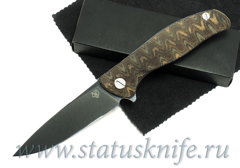 Нож Широгоров Кастом Ф3 S30V Микарта Питон 3D