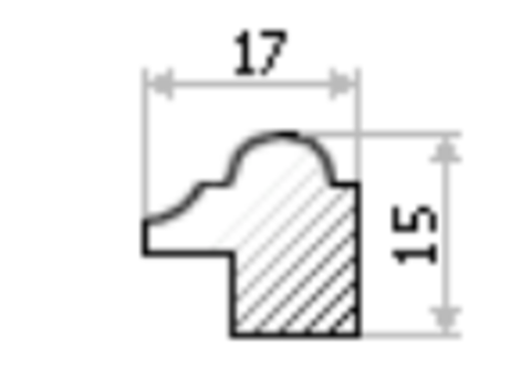 Фоторамка рязань RZ17 15х15