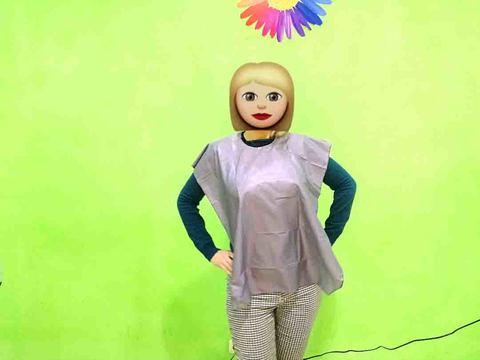 Пеньюар парикмахерский детский (в ассортименте) крепление на веревках 60x90 см