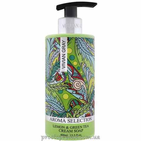 Vivian Gray Aroma Selection Lemon & Green Tea Cream Soap - Жидкое крем-мыло