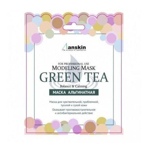 Anskin Green Tea Modeling Mask