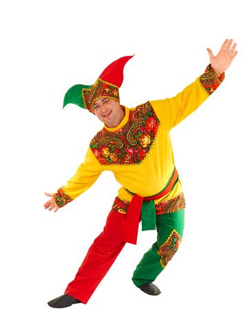 Карнавальный костюм  Скоморох царский