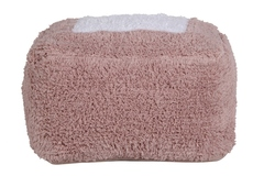 Пуф Lorena Canals Marshmallow Square Vintage Nude (18x30x39 см)