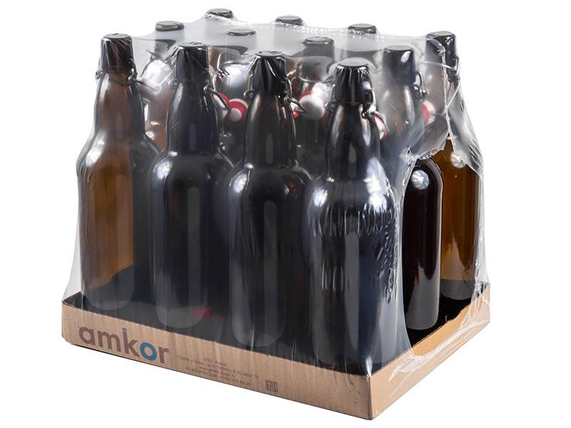 Розлив и хранение пива Бутылка 1  литр с бугельной пробкой  12 штук 013131_1.jpg