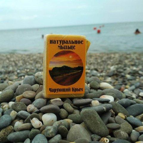 Натуральное мыльце «Чарующий Крым» с ароматом спелой дыни™Фитон-Крым