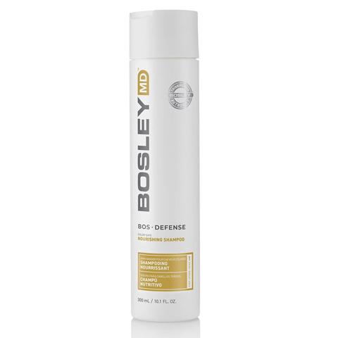 Bosley MD Defense Желтая линия: Шампунь  для предотвращения  истончения и выпадения волос (BosDefense color safe nourishing shampoo), 300мл