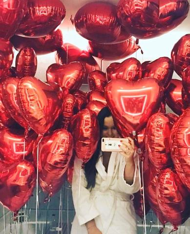 Красная роскошь, 50 сердец