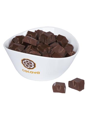 Молочный шоколад 50 % какао (Мадагаскар, Åkesson), внешний вид