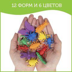 Развивающая игрушка фигурки Насекомые (12 элементов) Edx education, арт. 13180C