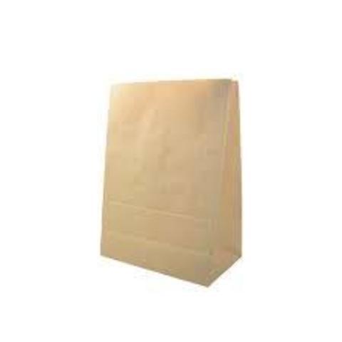 Пакет бумажный 260х150х420 мм с дном крафт