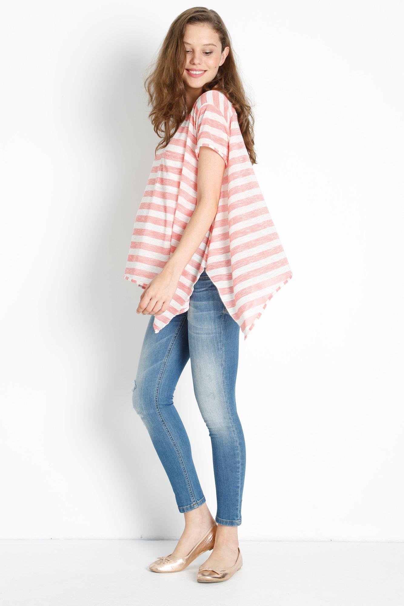 Фото джинсы для беременных GEBE, зауженного укороченного кроя от магазина СкороМама, синий, размеры.