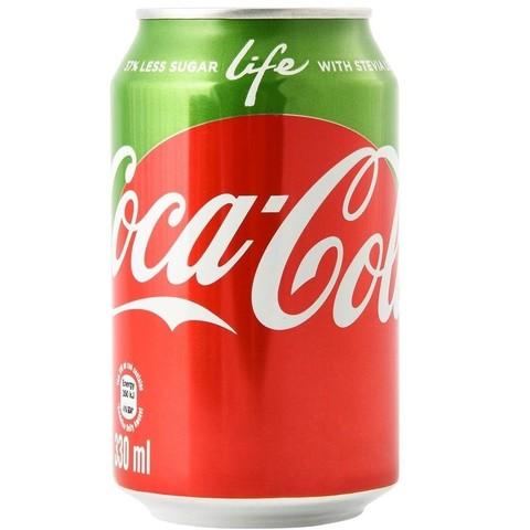 Coca-Cola Life Кока-Кола 0,355 л