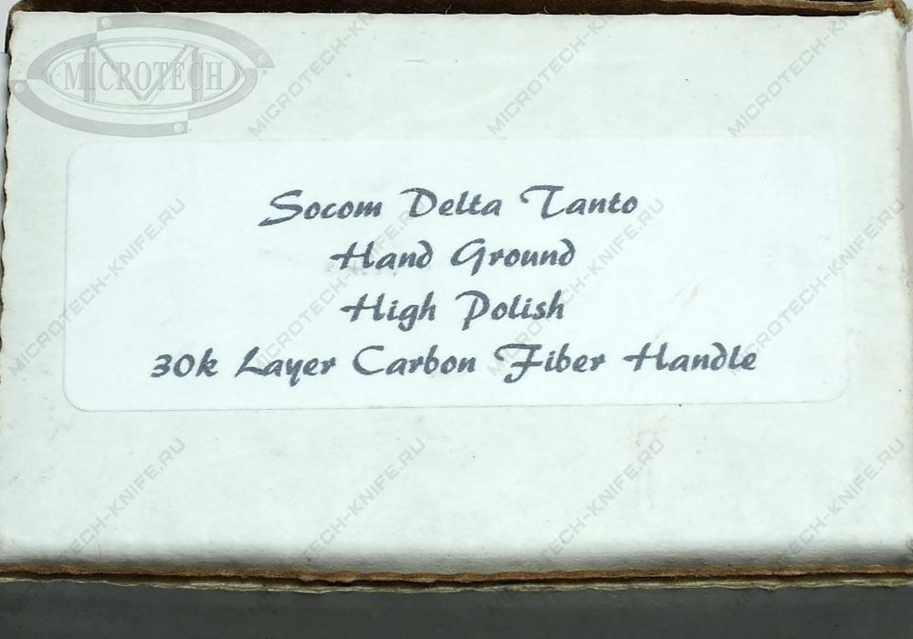Нож Custom Marfione Socom Delta Tanto High Polish - фотография