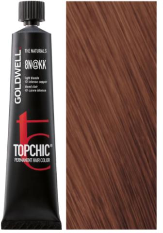 Topchic 8N@KK - светлый блонд с интенсивно-медным сиянием (теплая медь) TC 60ml